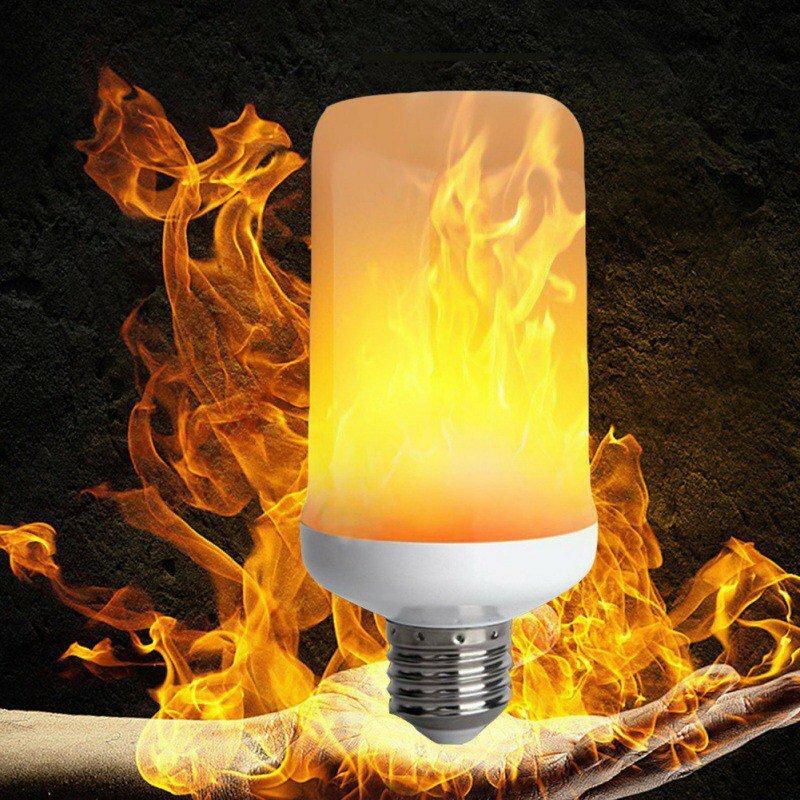 Лампа LED с эффектом пламени в Кизеле