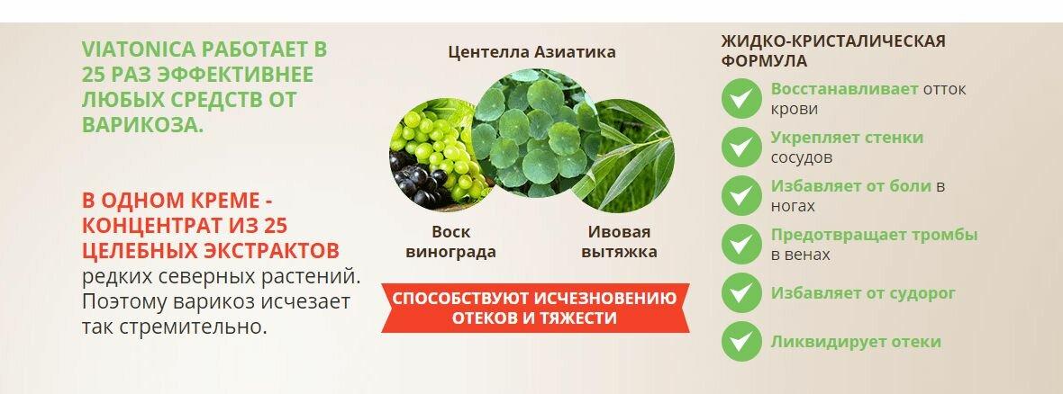 Viatonica от варикоза в Междуреченске