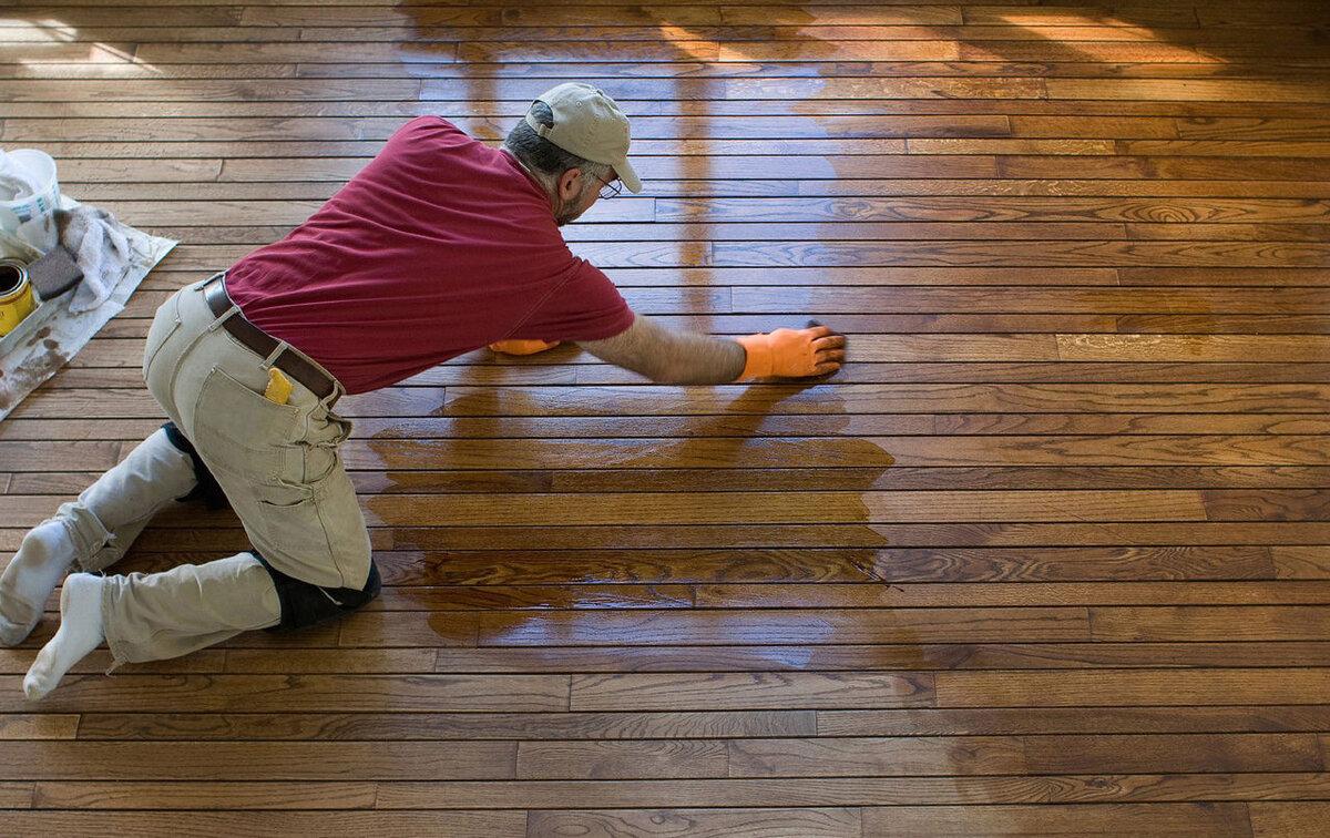 Как мыть окрашенный деревянный полд