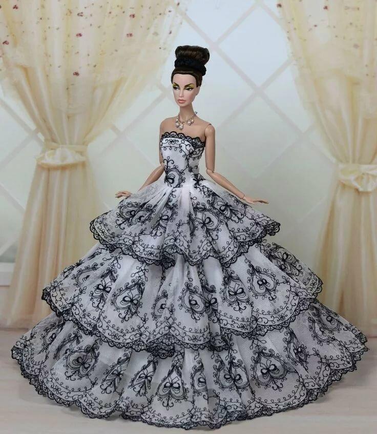 Картинки платье своими руками барби