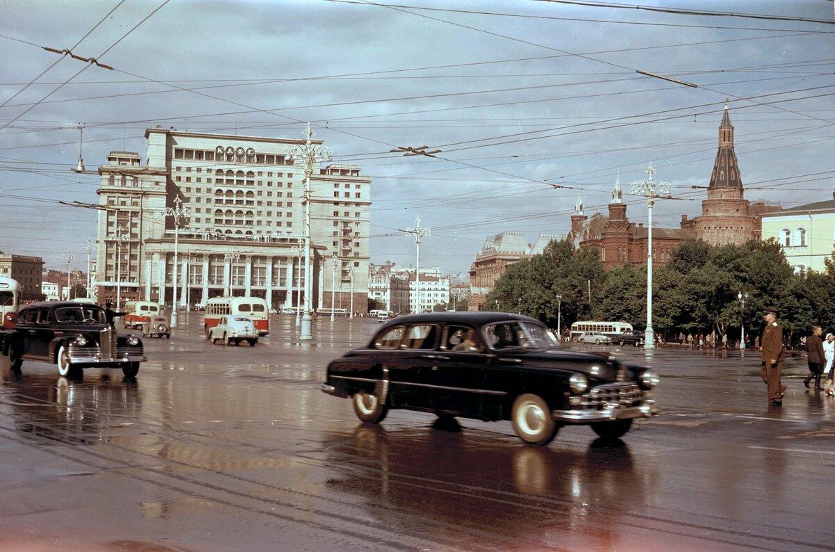 Картинка советская москва