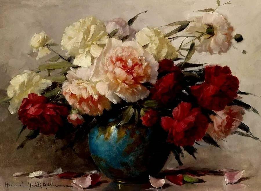 букеты цветов в картинах художников знойный июль ближайшей