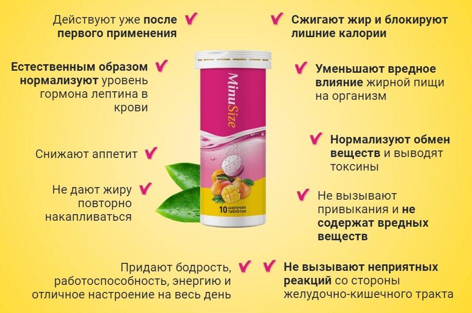MinuSize для похудения в Димитровграде