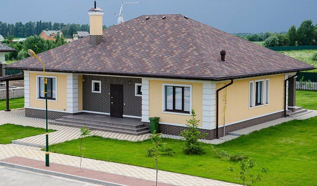 одноэтажные дома фото реальных домов несколько