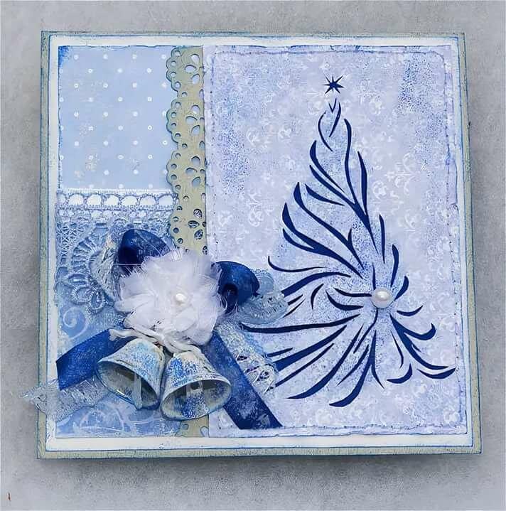 День валентина открытка в голубом цвете реальной жизни