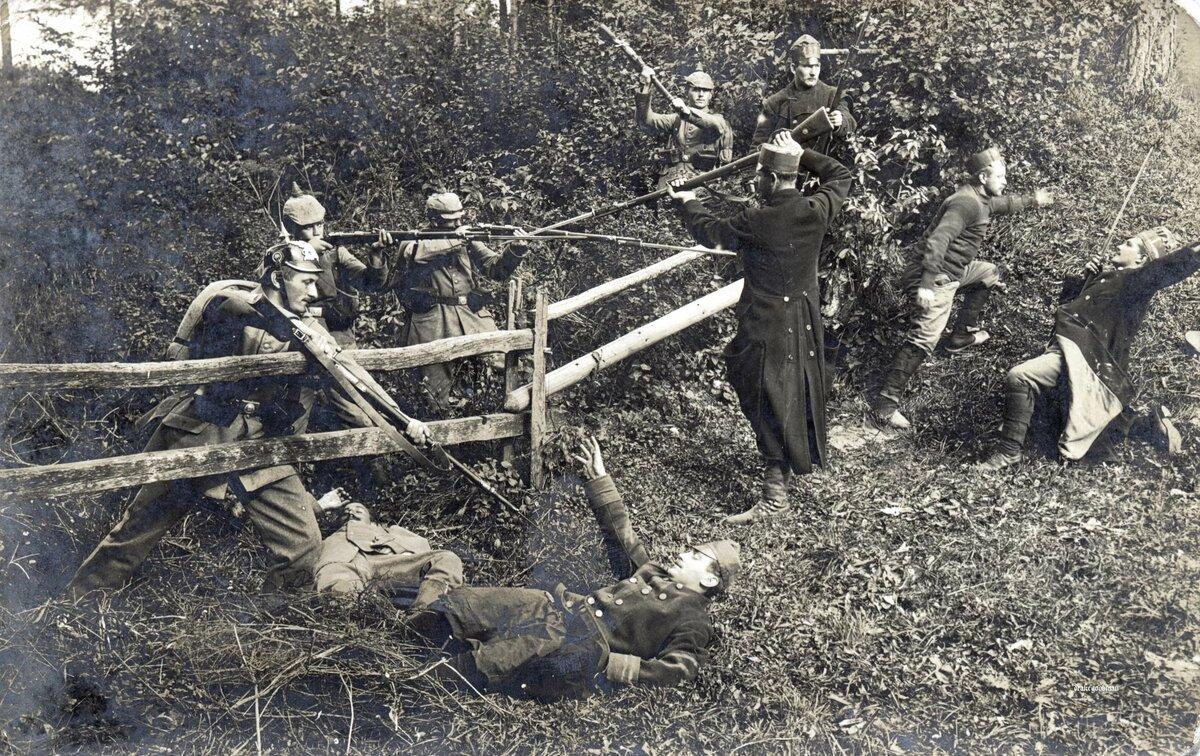 Первая мировая война фото с описанием