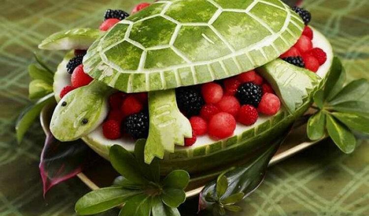 животные из фруктов фото подобранные гигиенические