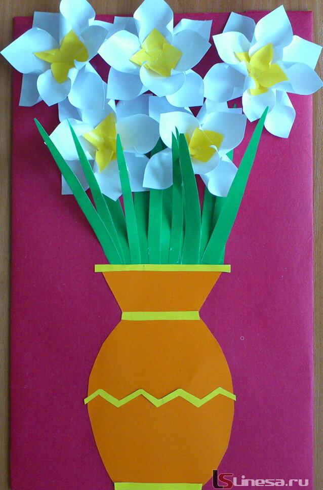 К 8 марта детские открытки своими руками