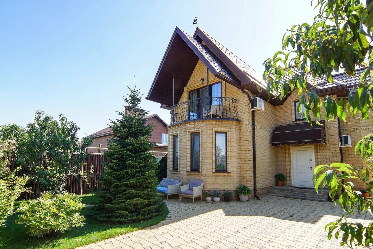 Красивые дома в краснодарском крае фото