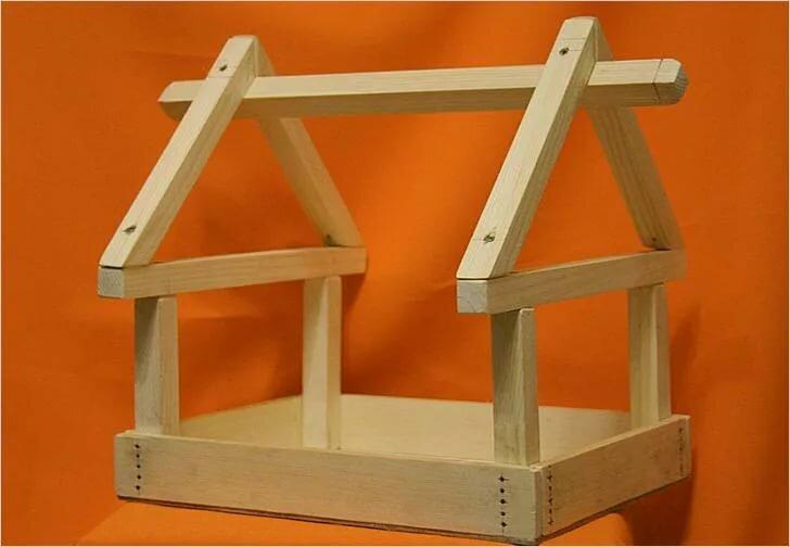 пошаговое фото изготовления деревянной кормушки анекдоты
