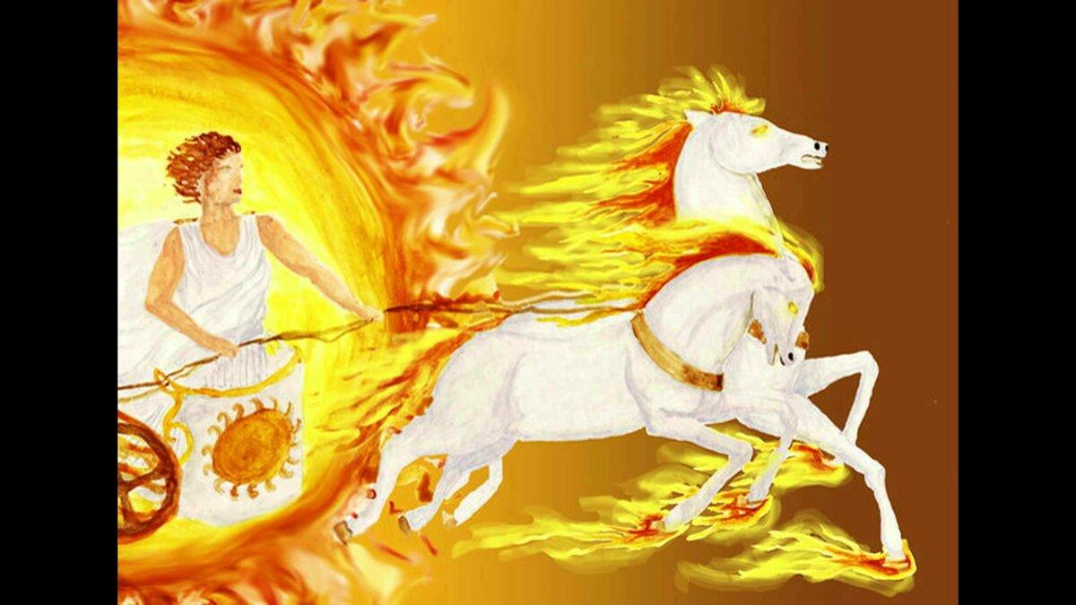 Картинки небесная колесница