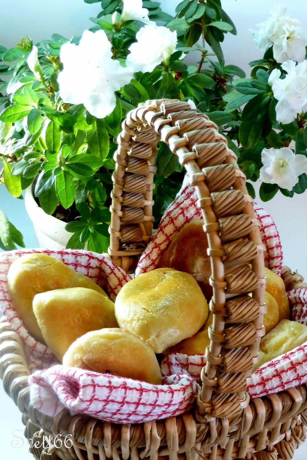 Пирожки в корзине картинки