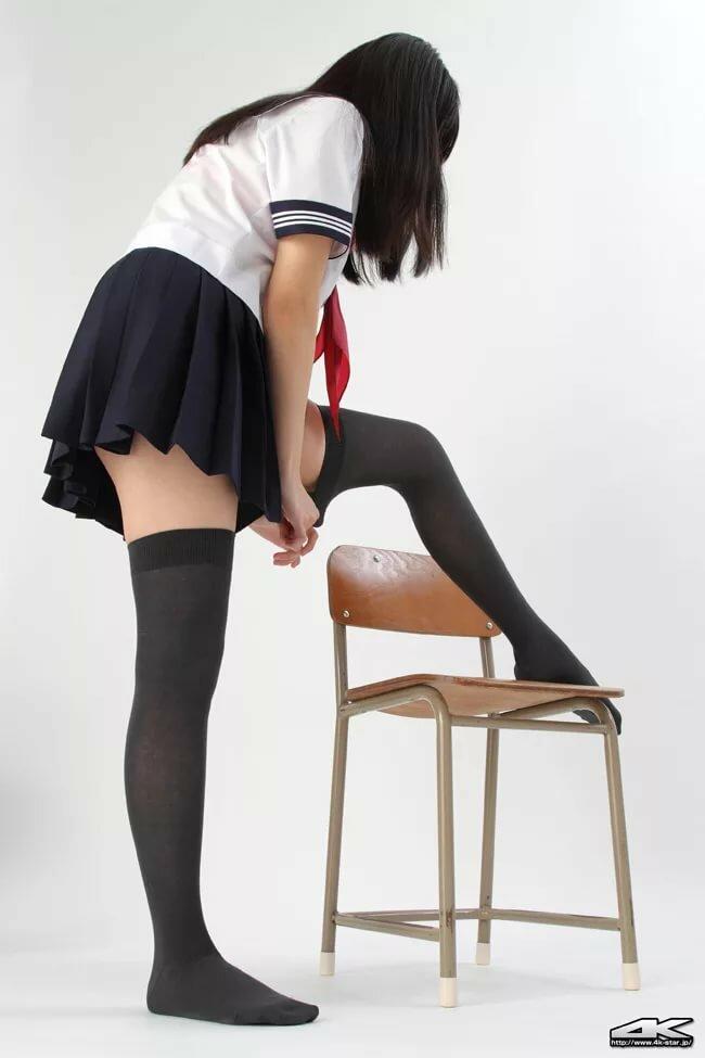 Japanese girl thighs legs