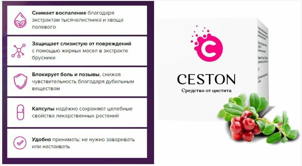 Ceston от цистита в Новомосковске