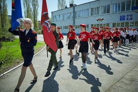 Парад в честь Дня Победы во 2-м квартеле г. Тольятти. 2019