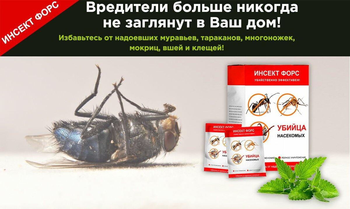 Инсект Форс от насекомых в НижнемТагиле