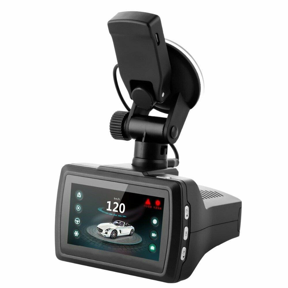 Видеорегистратор с GPS, антирадаром и 3 камерами в Перми