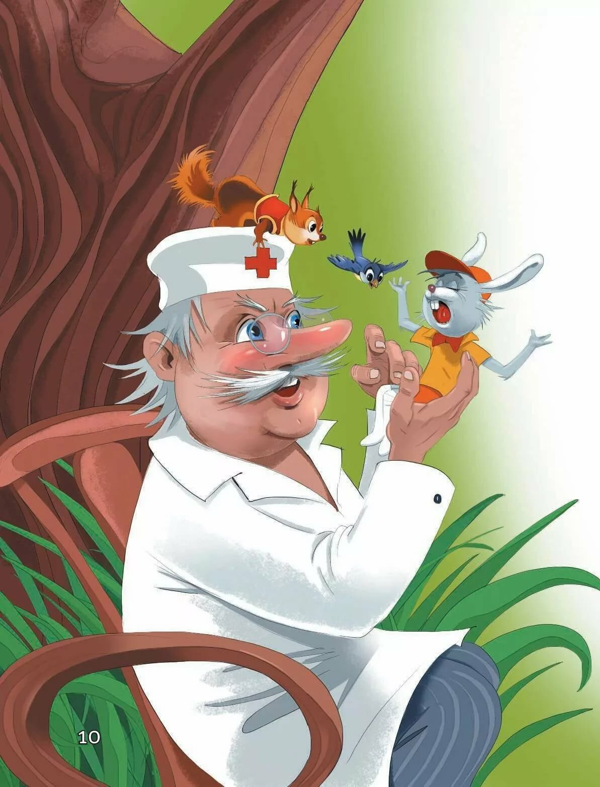 Картинки животных из сказки доктор айболит