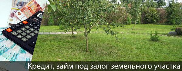 Деньги под залог земельного участка от частного лица красноярск