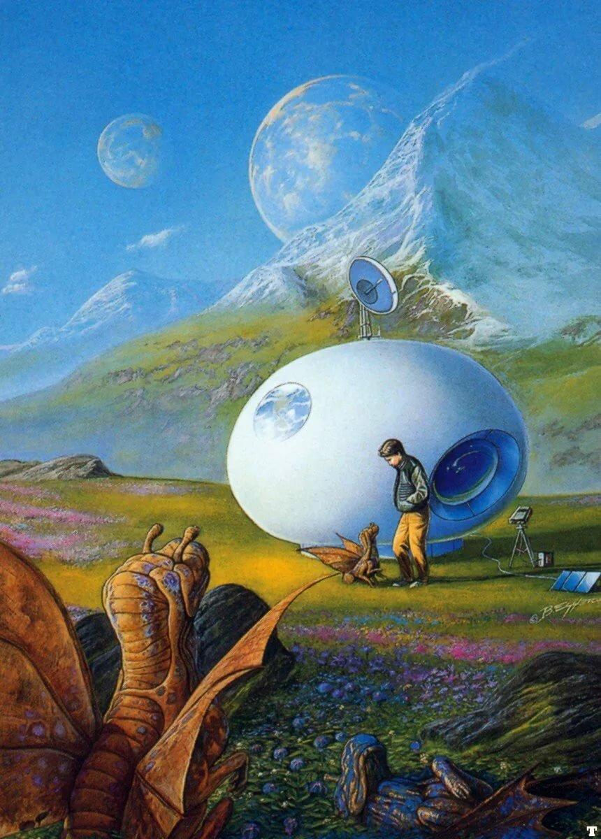 Картинки к выставке фантастика