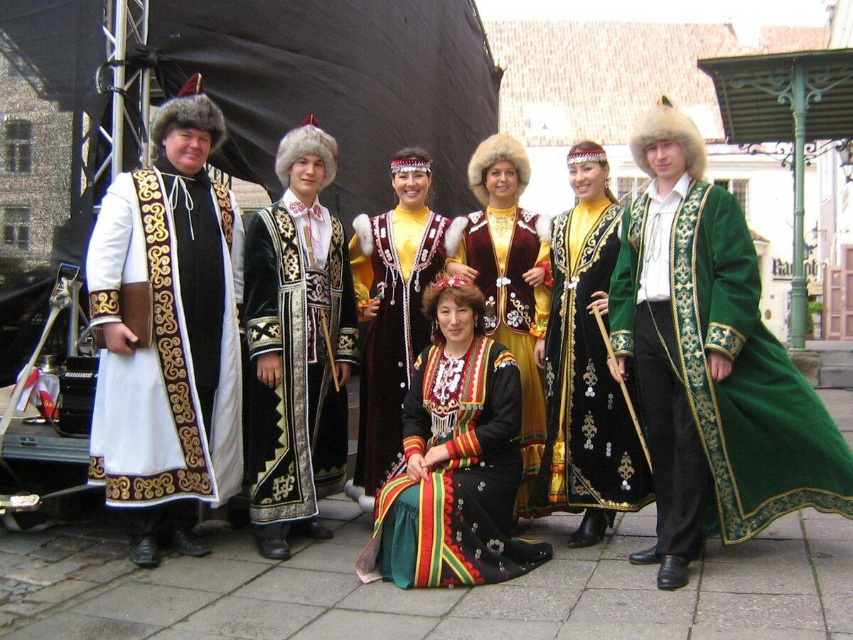народные костюмы башкиры картинки