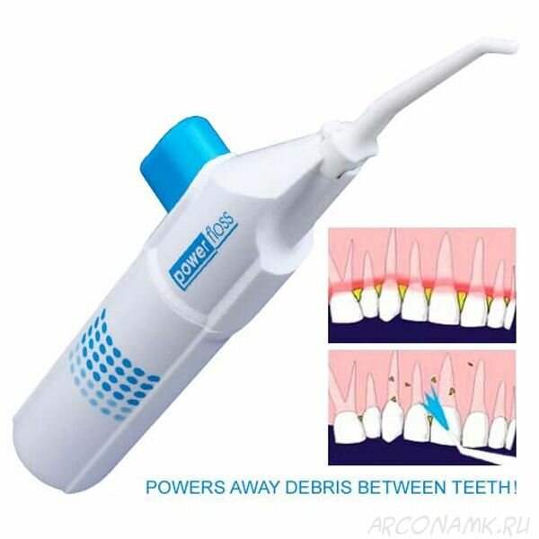 Отбеливающий ирригатор Power Floss для зубов в Ачинске