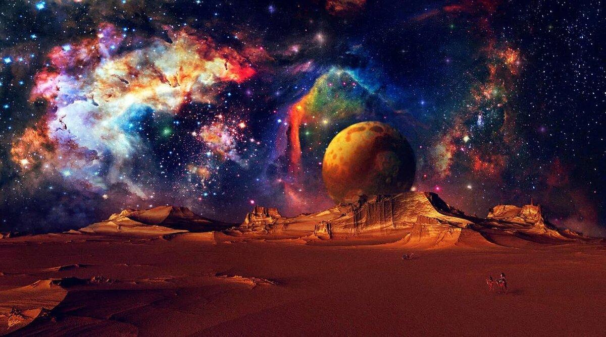 рисунки фото фантастика космос поделился подробностями