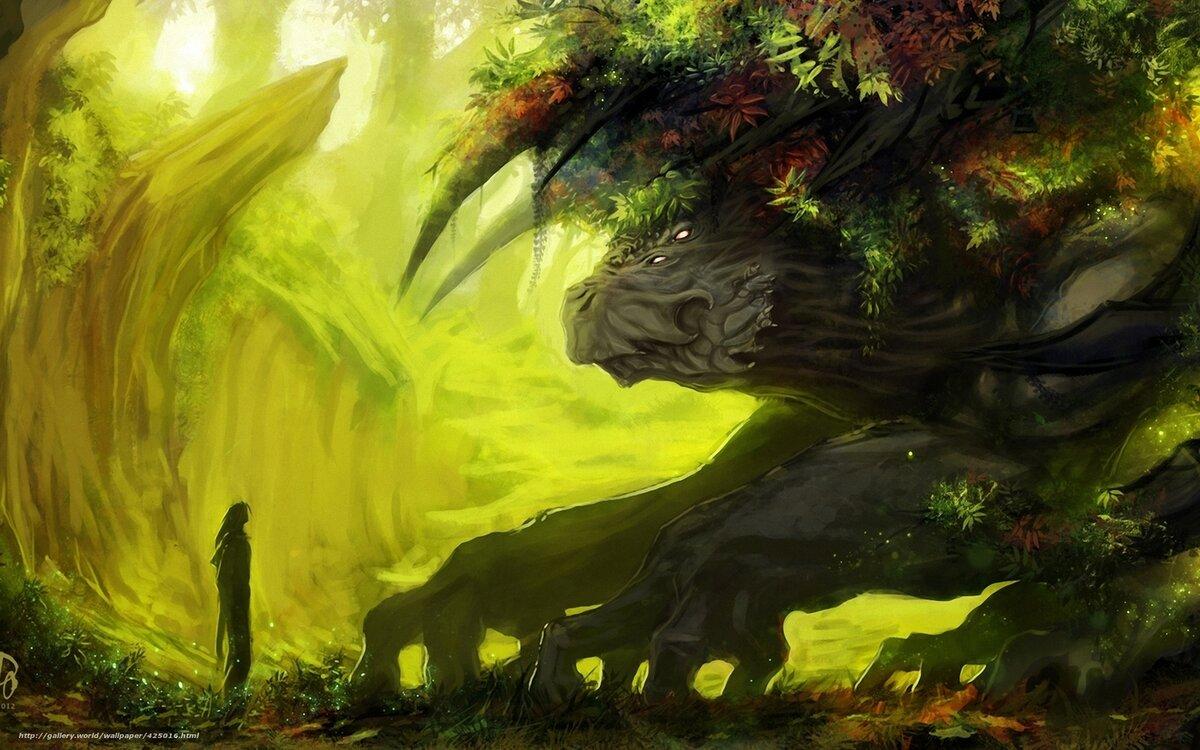 лесной монстр картинки