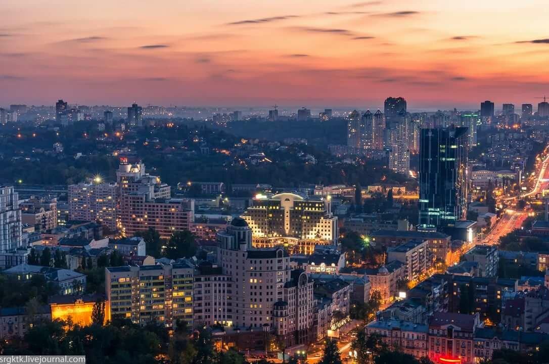 Киев панорама картинка