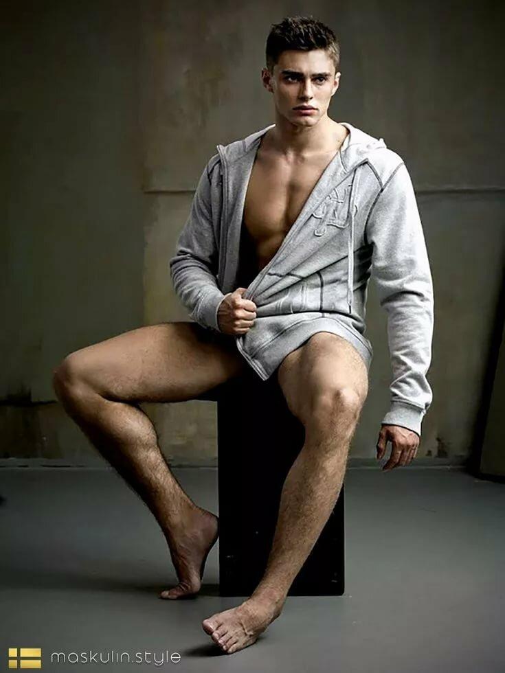 Sexy man legs