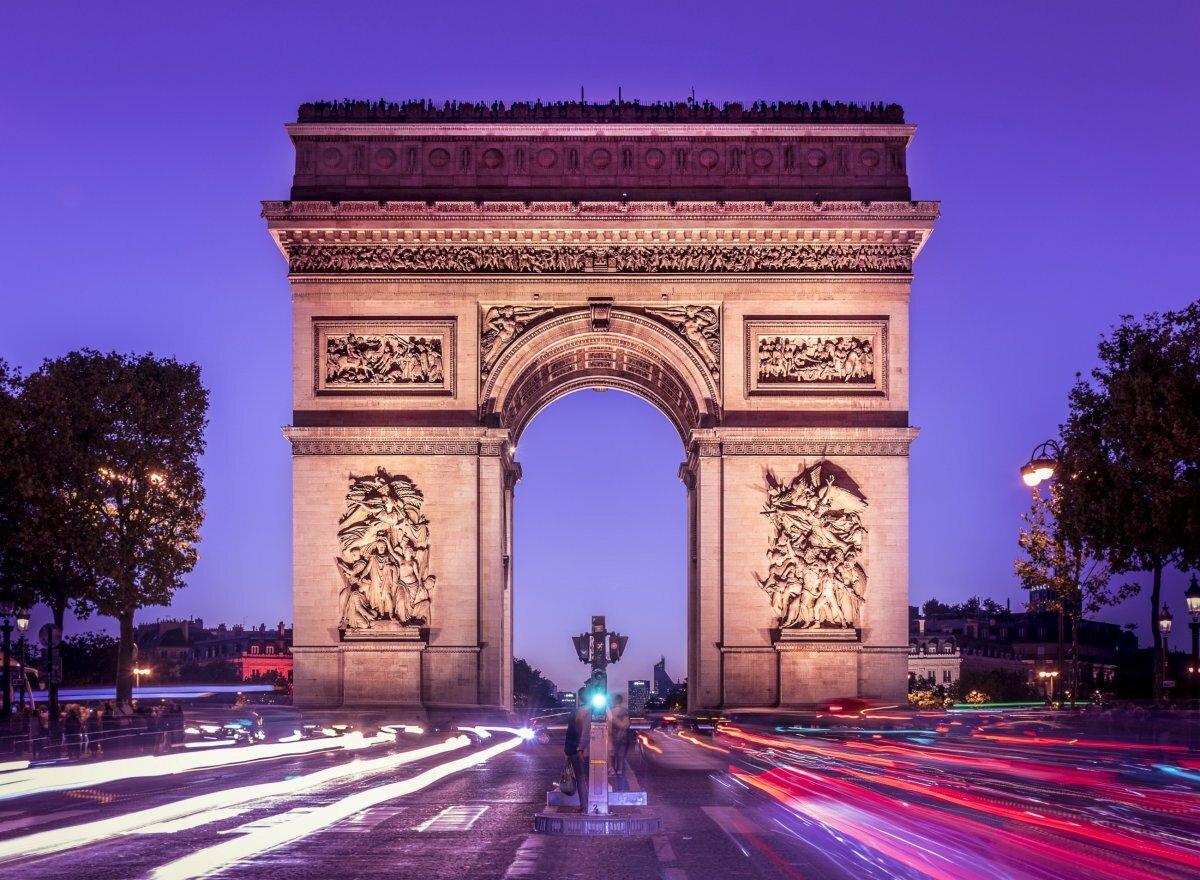 триумфальные арки картинка самых
