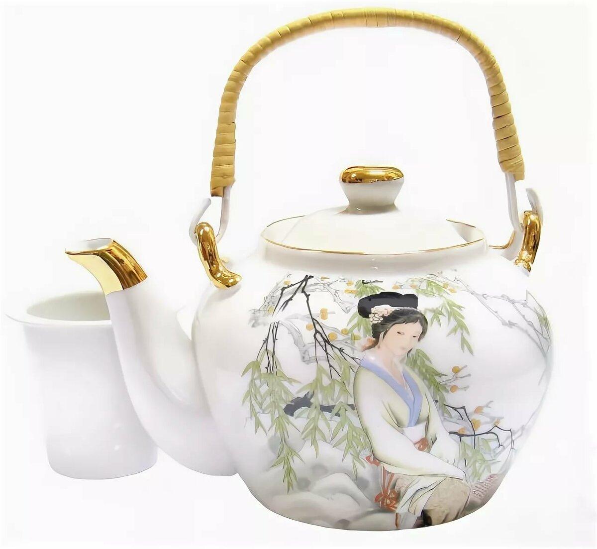 чайник из фарфора картинки места для