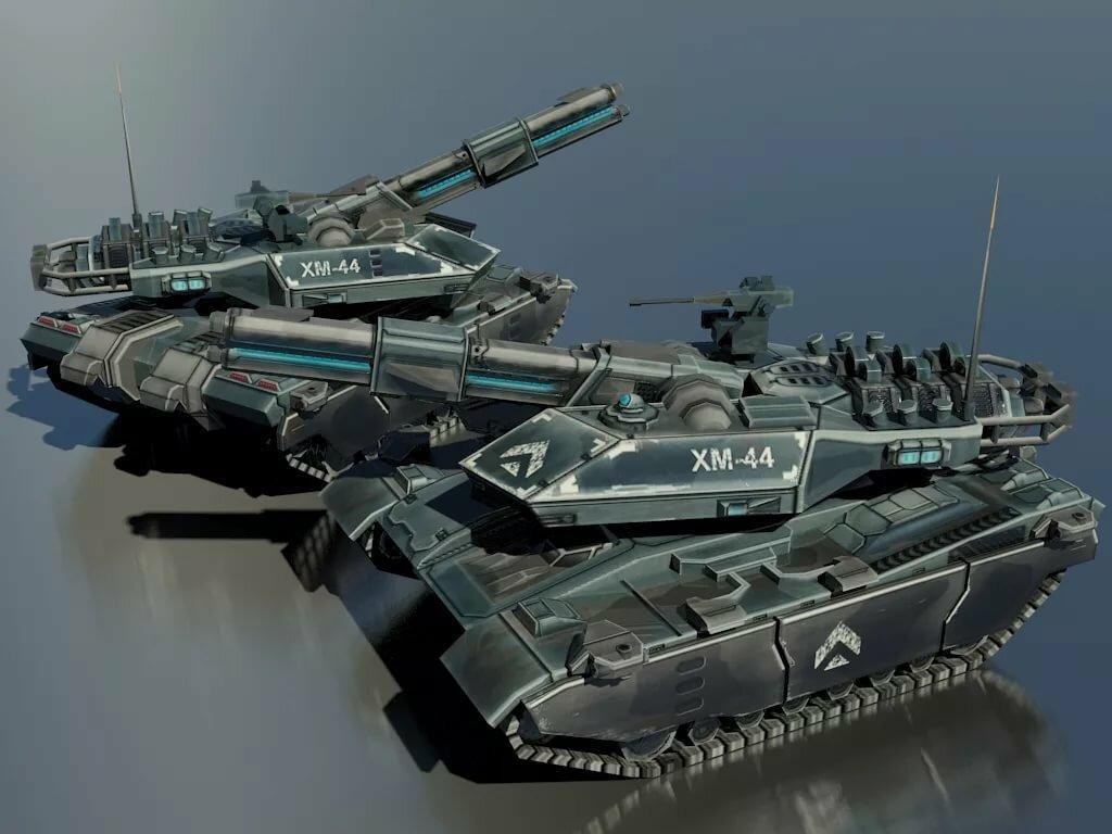 танки будущего фото