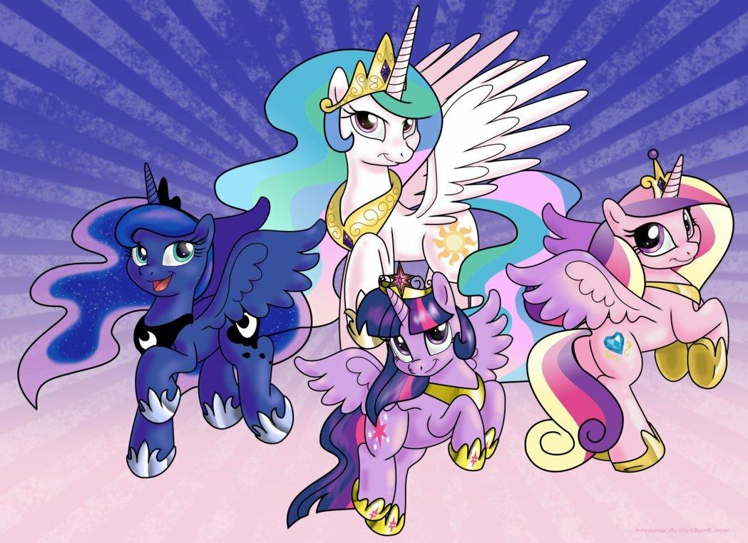 Картинки малитал пони принцессы