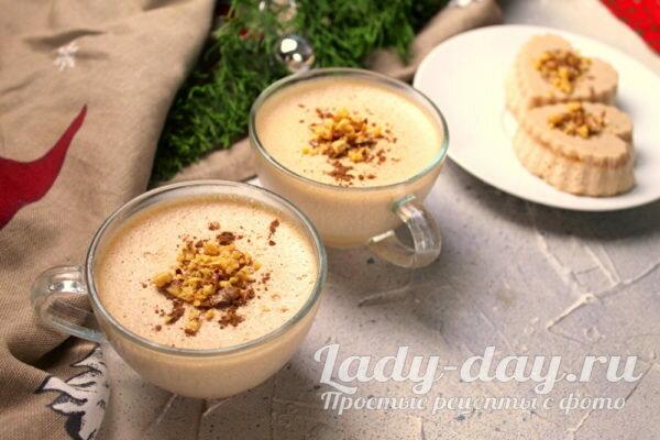 Десерт из ряженки с желатином и какао   Простые рецепты с фото