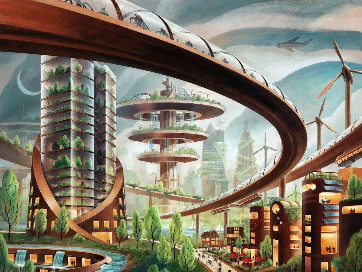 Рисунок новости будущего века