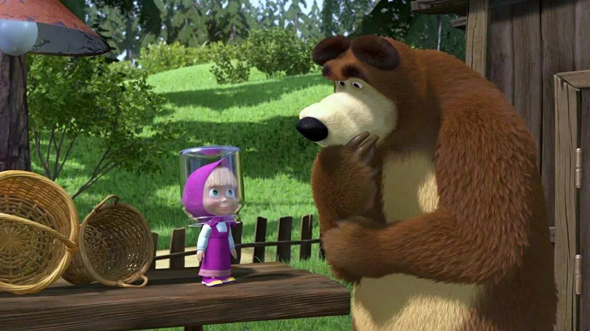 картинки маша и медведь умные чем через