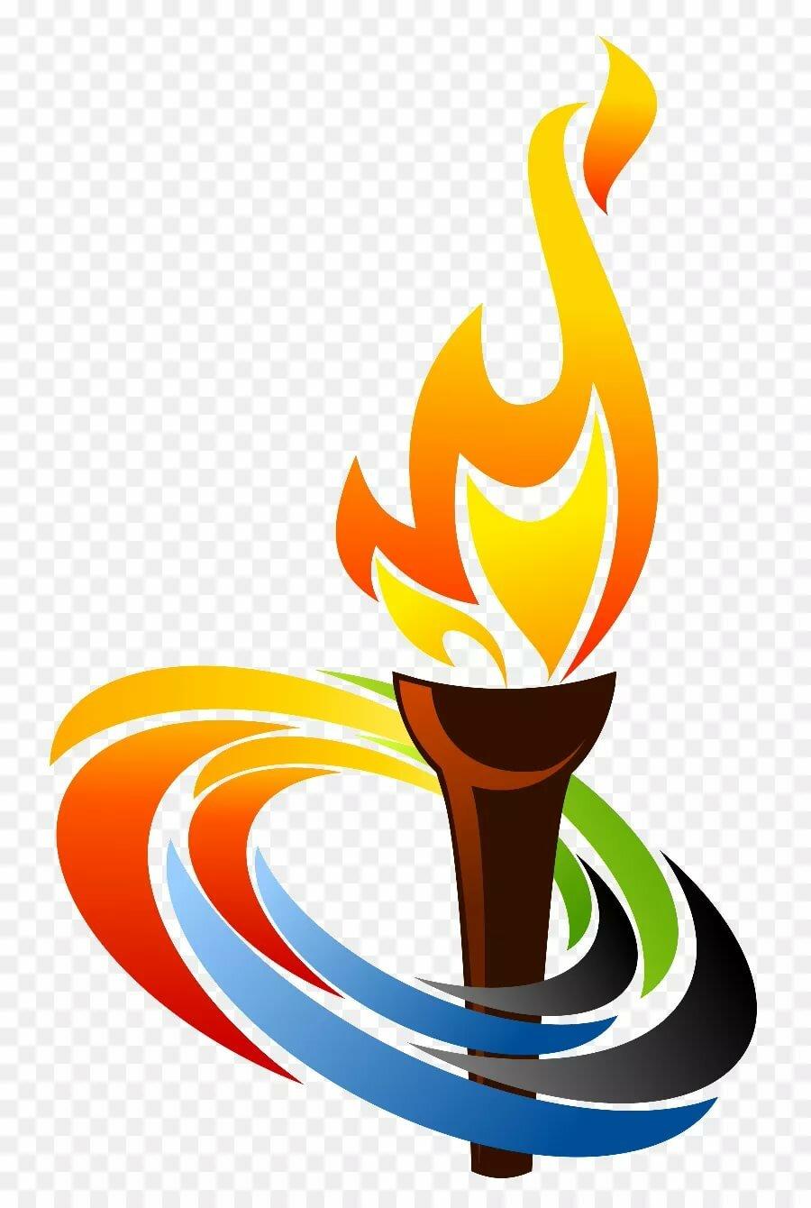 Картинки олимпийского огня и колец