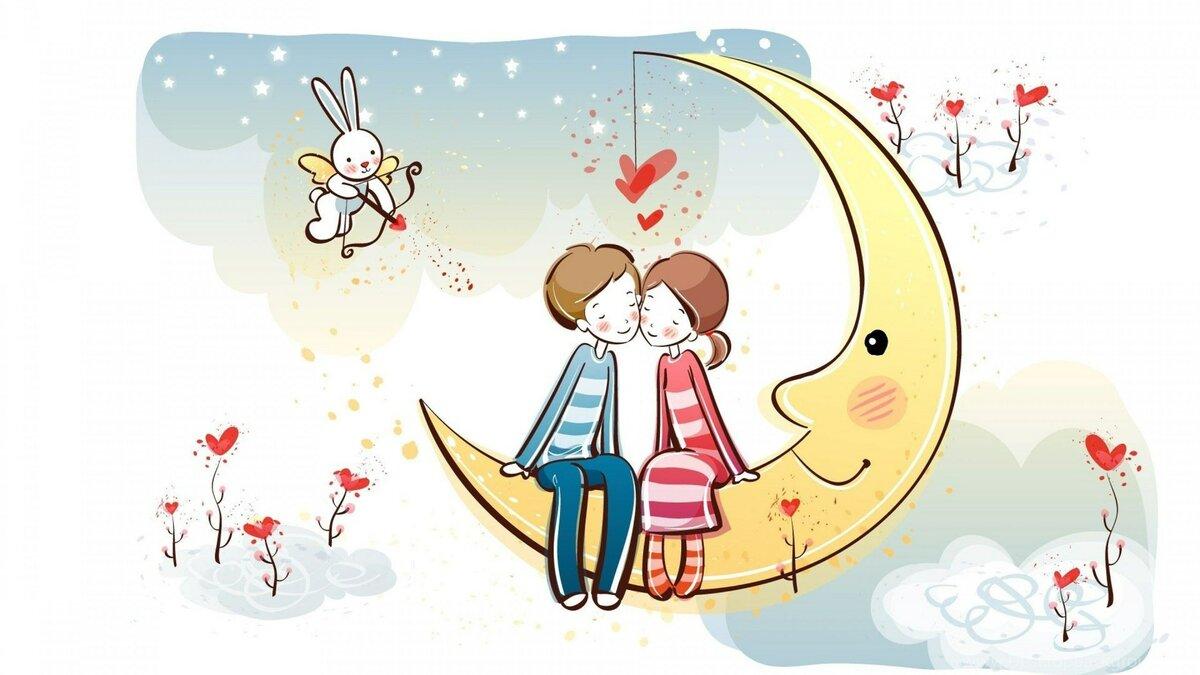 Музыка весны, милые картинки с днем святого валентина