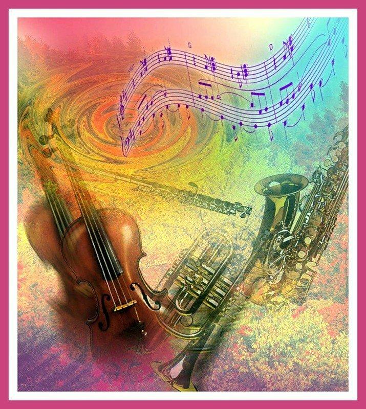 Открытка с музыкой для мужчины