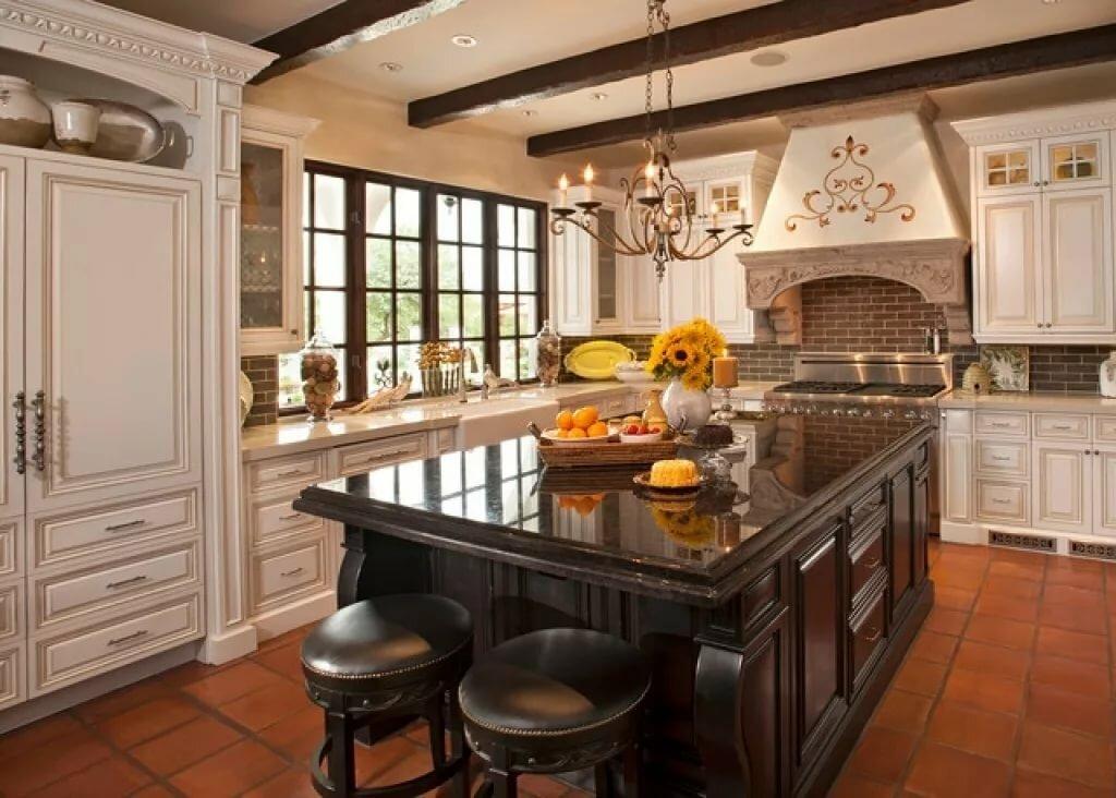 кухня в колониальном стиле фото единственным признаком поломки