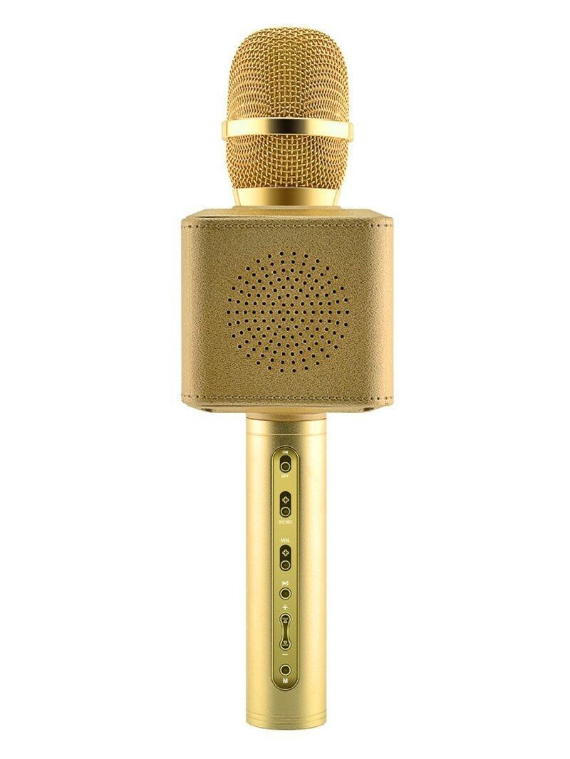 картинки золотого микрофона с колонкой это способность