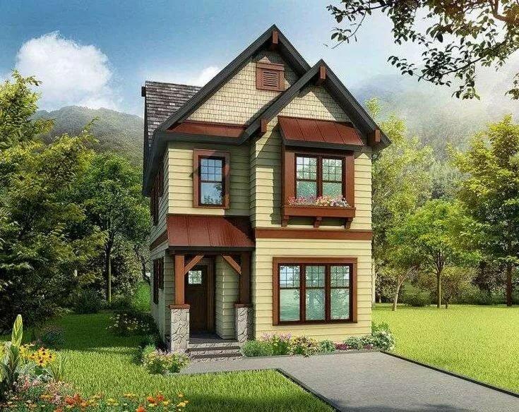 красивые двухэтажные дачи фото б?хете?не ?зе?