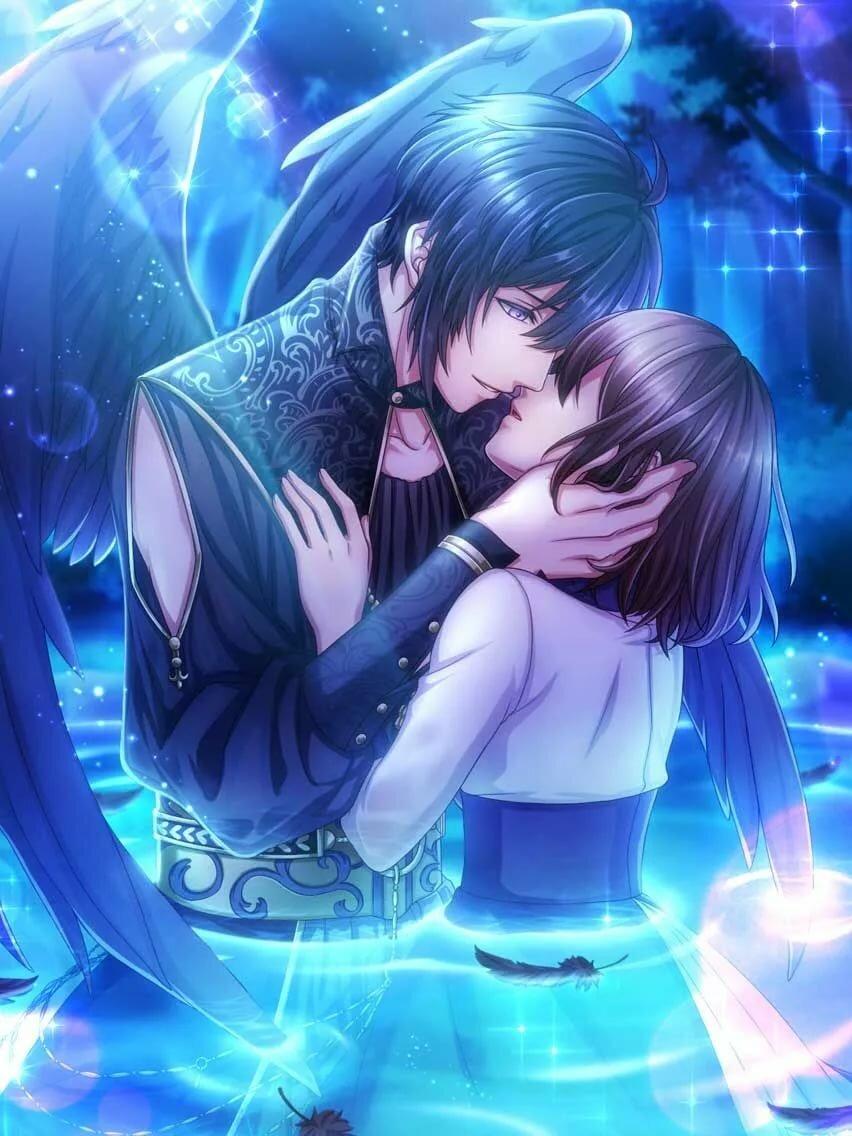 Аниме картинки романтика любовь