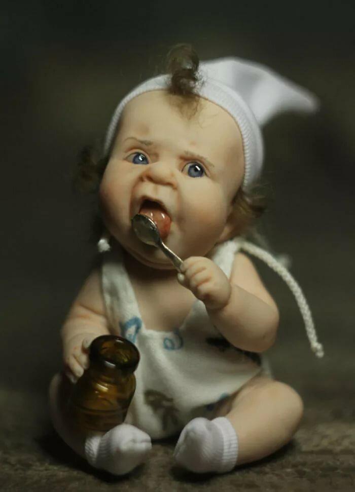 Фото кукол прикольных, поздравлением