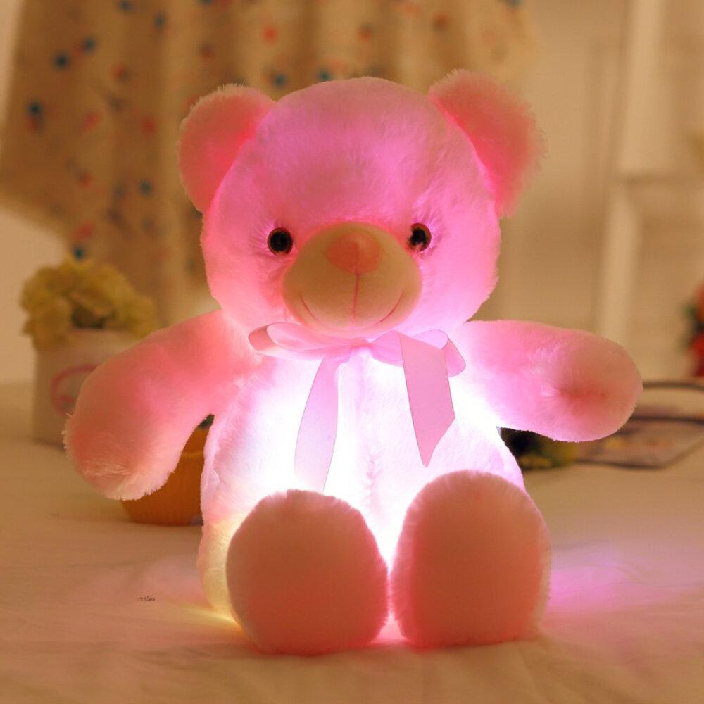 Светящийся плюшевый мишка в Абакане