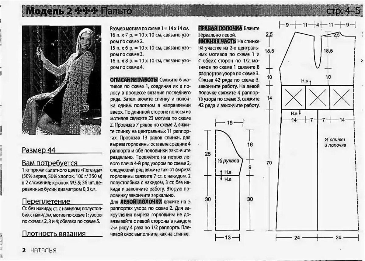 кардиган удлиненный крючком схемы с фото фотокниги рамками