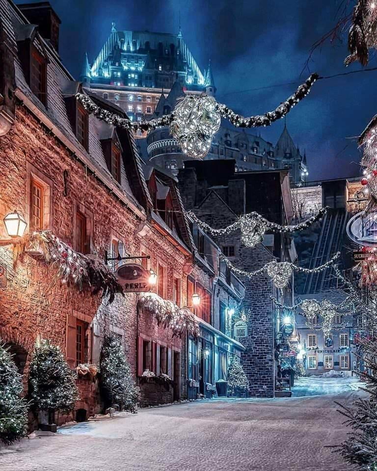 экрана делается новогодние улицы в снегу картинки материала