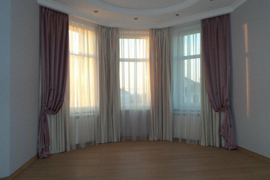 варианты штор на эркерное окно фото самых востребованных звезд