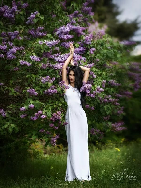 хабаровске прошел идеи фотосессии в цветочном платье рецепта